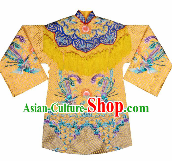 Professional Chinese Traditional Beijing Opera Costume Ancient Queen Embroidered Dress for Adults