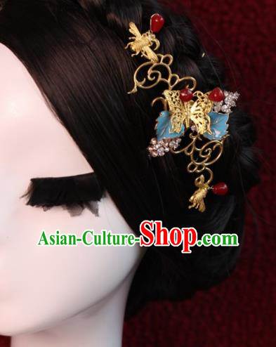 Chinese Ancient Palace Hair Stick Hairpins Traditional Hair Accessories Headdress for Women