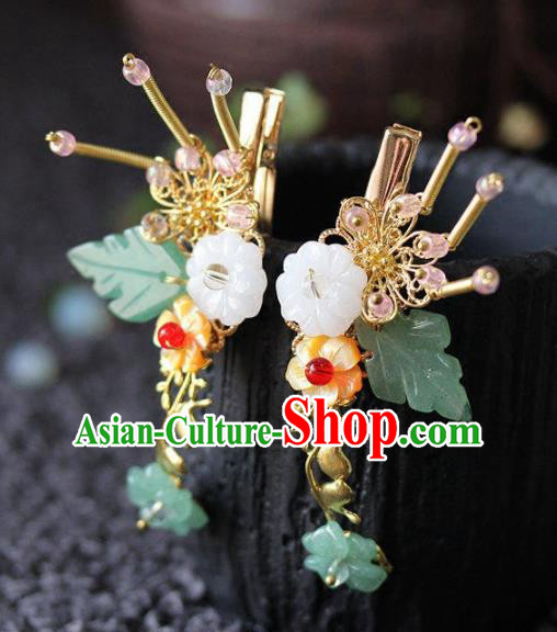 Handmade Chinese Ancient Hairpins Hair Claws Traditional Hair Accessories Headdress for Women