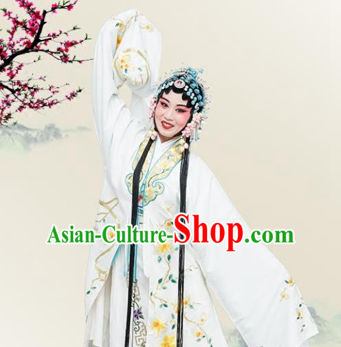 Chinese Traditional Peking Opera Princess Embroidered Dress Classical Beijing Opera Actress Costume for Adults