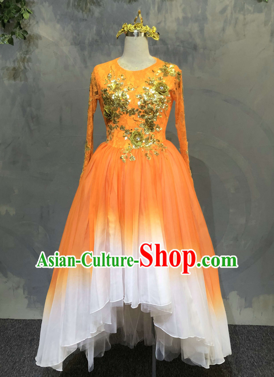 Custom Made Tailor Made Custom-made Color Transition Dance Costumes