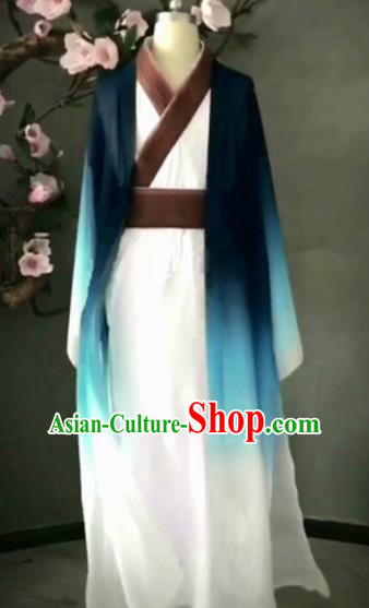Chinese Traditional Classical Dance Costume Stage Performance Clothing for Men