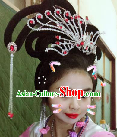 Chinese Traditional Beijing Opera Headwear Peking Opera Diva Hair Accessories for Women
