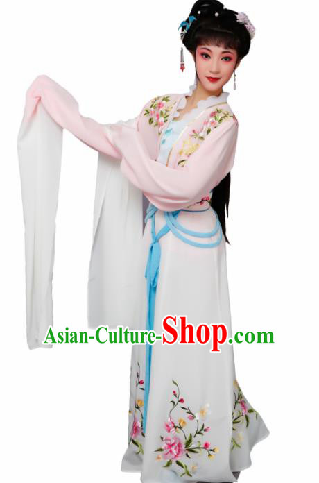 Chinese Traditional Peking Opera Nobility Lady Pink Dress Beijing Opera Hua Dan Costume for Women