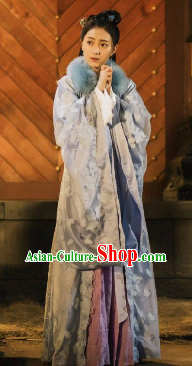 Traditional Chinese Tang Dynasty Court Princess Hanfu Dress Ancient Drama Palace Lady Embroidered Costume for Women