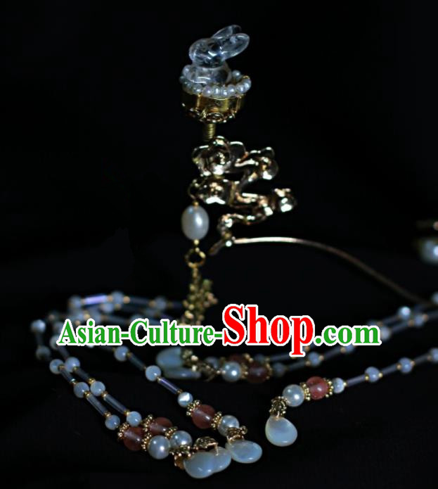 Traditional Chinese Hanfu Tassel Hair Clip Hair Accessories Ancient Imperial Consort Hairpins for Women
