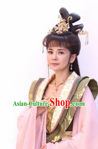 Handmade Chinese Traditional Hanfu Hairpins Tassel Step Shake Ancient Ming Dynasty Princess Hair Accessories for Women
