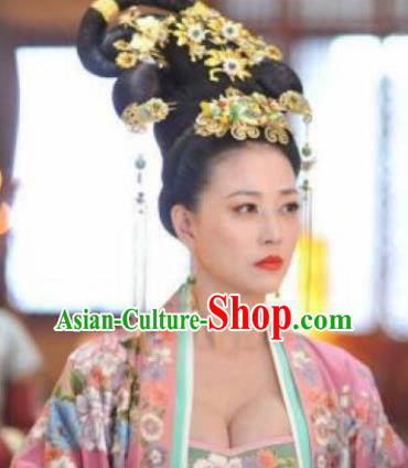 Chinese Handmade Hanfu Tang Dynasty Hairpins Traditional Ancient Imperial Consort Hair Accessories for Women