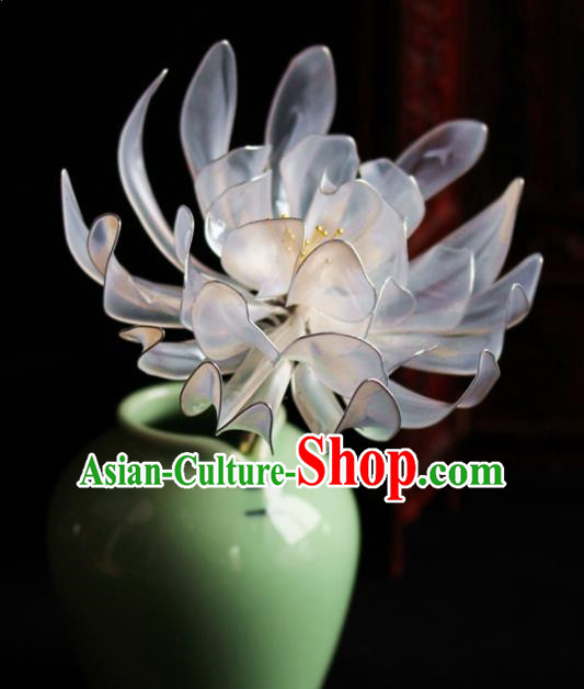 Chinese Handmade Palace Queen Peony Hairpins Ancient Hair Accessories Headwear for Women