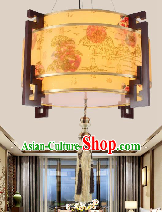 Chinese Traditional Classical Ceiling Palace Lantern Handmade New Year Lanterns Hanging Lamp