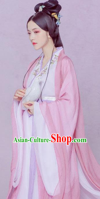 Chinese Ancient Royal Dowager Hanfu Dress Traditional Han Dynasty Imperial Consort Historical Costume for Women