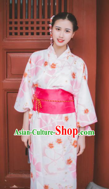 Japanese Traditional Handmade Wedding Kimono Dress Asian Japan Geisha Yukata Costume for Women