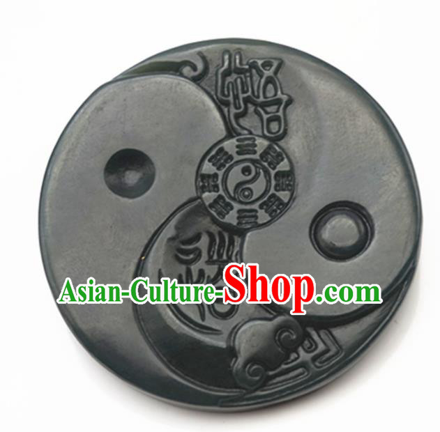 Handmade Chinese Ancient Carving Jade Pendant Traditional Jade Craft Jewelry Decoration Accessories