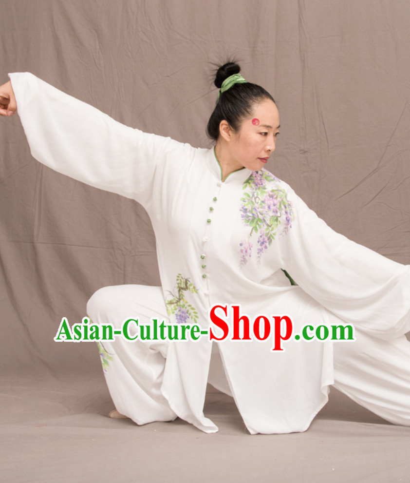Grape Good Meaning Top Chinese Classical Competition Championship Professional Tai Chi Uniforms