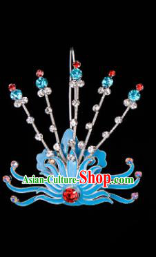 Chinese Handmade Beijing Opera Hair Accessories Traditional Ancient Princess Phoenix Hairpins for Women