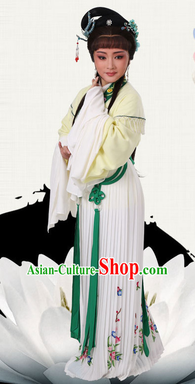 Chinese Traditional Peking Opera Princess Dress Ancient Palace Lady Embroidered Costume for Women