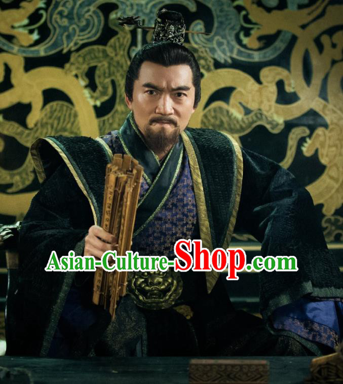 Chinese Ancient King Clothing Shang Dynasty Drama The Legend of Deification Tyrant King Costume for Men