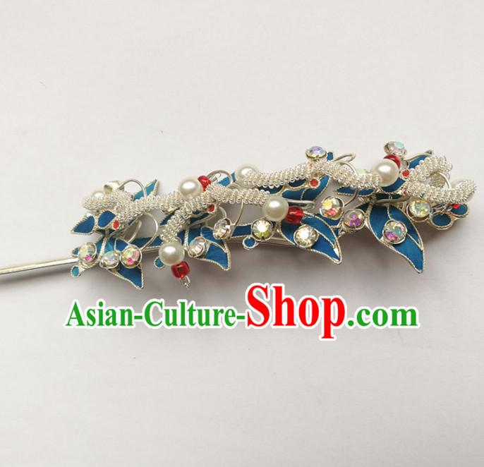 Chinese Ancient Queen Court Hairpins Traditional Beijing Opera Diva Hair Accessories for Adults