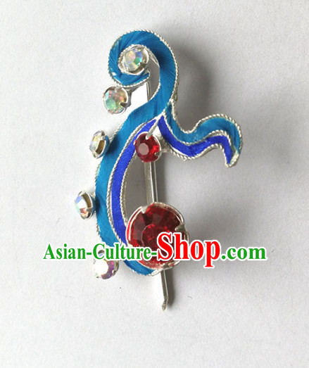Chinese Ancient Court Princess Little Hairpins Traditional Beijing Opera Diva Hair Accessories for Adults
