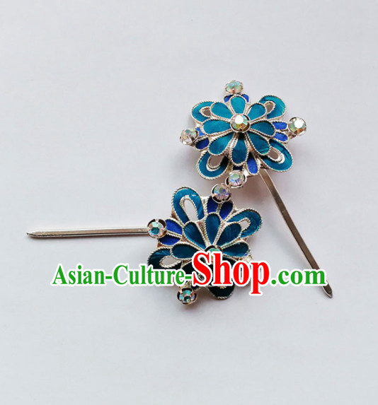 Chinese Ancient Court Princess Hair Clip Hairpins Traditional Beijing Opera Diva Hair Accessories for Adults