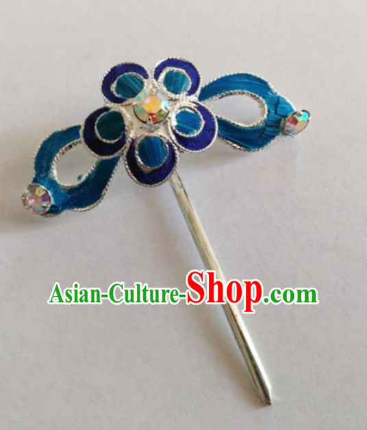 Chinese Ancient Court Princess Plum Hair Clip Hairpins Traditional Beijing Opera Diva Hair Accessories for Adults