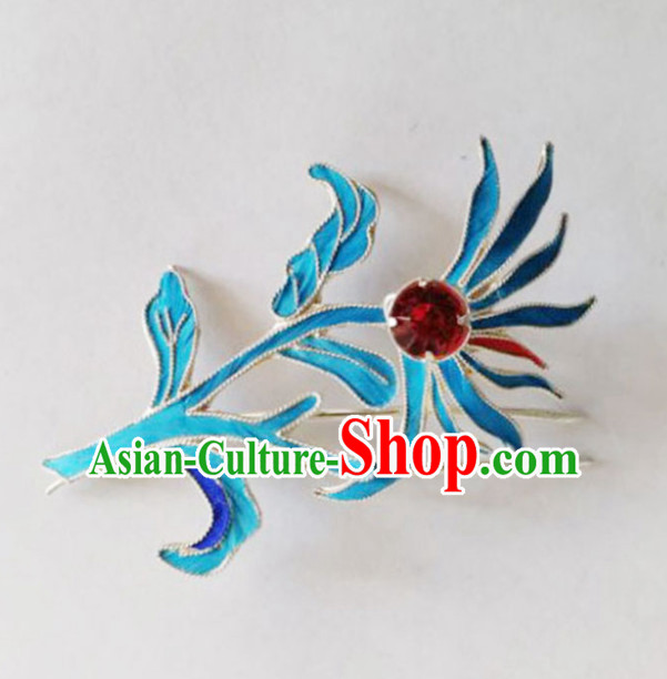 Chinese Ancient Court Princess Hairpins Hair Comb Traditional Beijing Opera Diva Hair Accessories for Adults