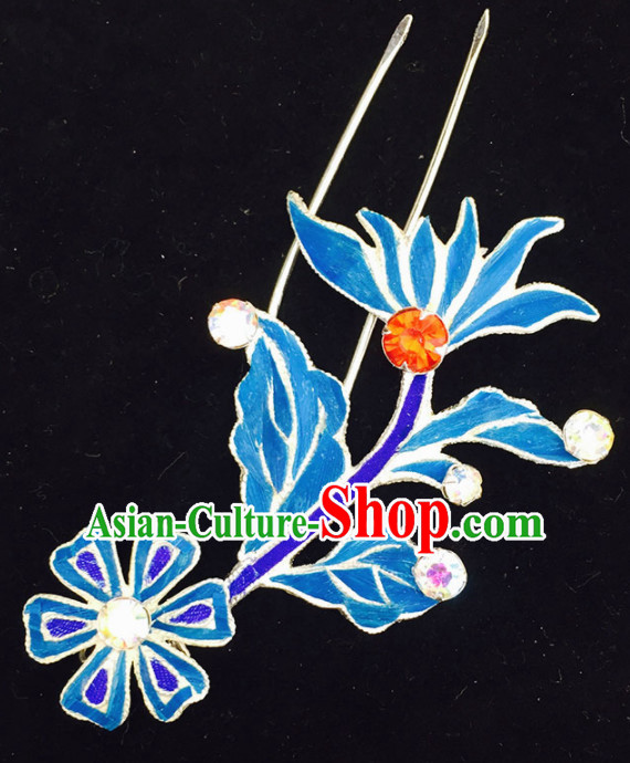 Chinese Ancient Princess Sunflower Hairpins Traditional Beijing Opera Diva Court Hair Accessories for Adults