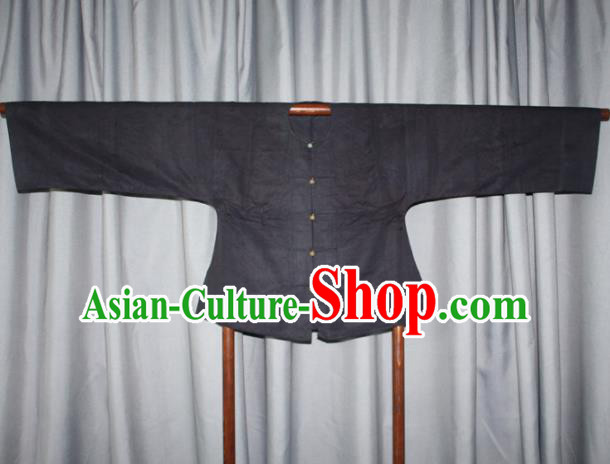 Chinese Traditional Drama Manchu Costume Ancient Qing Dynasty Mandarin Jacket for Men