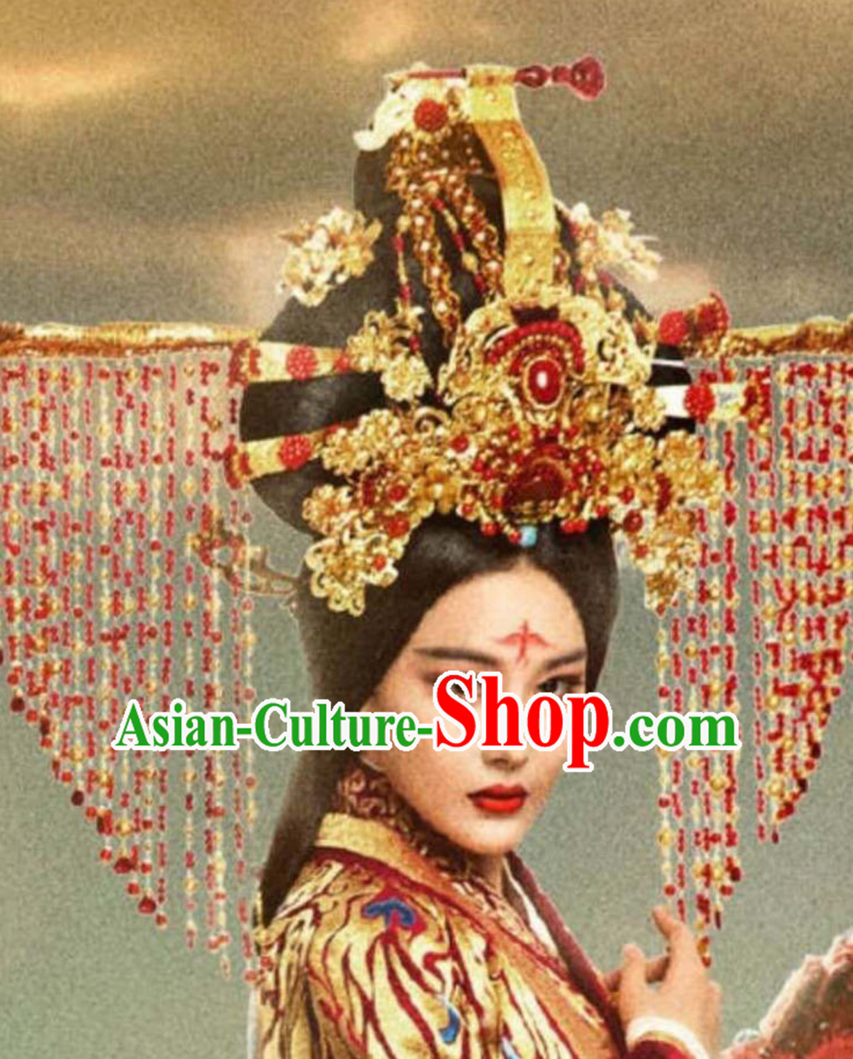 Ancient Chinese Empress Handmade Crown