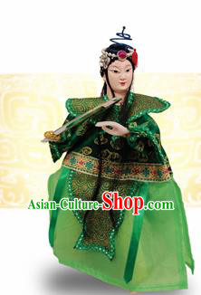 Chinese Traditional Beijing Opera Xiao Qing Marionette Puppets Handmade Puppet String Puppet Wooden Image Arts Collectibles