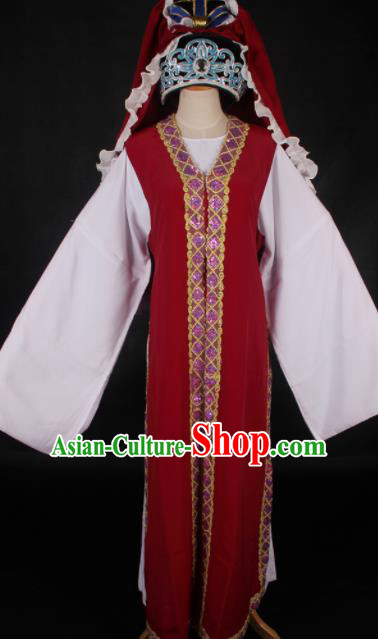 Traditional Chinese Shaoxing Opera Niche Costume Ancient Gifted Scholar Embroidered Clothing for Men