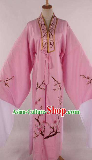Traditional Chinese Shaoxing Opera Niche Pink Robe Ancient Childe Scholar Costume for Men