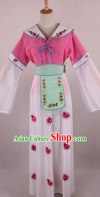 Chinese Beijing Opera Village Girl Dress Ancient Traditional Peking Opera Actress Costume for Women