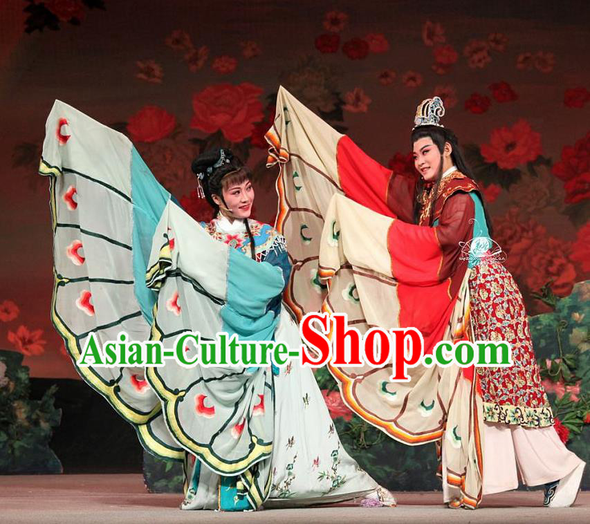 Traditional Chinese Classical Dance Liang Zhu Costume Beijing Opera Butterfly Lovers Stage Show Beautiful Dance Dress for Women