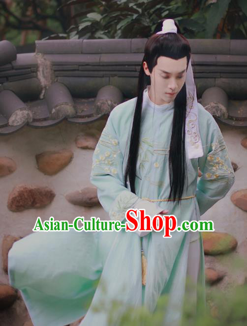 Traditional Chinese Tang Dynasty Prince Historical Costume Ancient Drama Swordsman Hanfu Clothing for Men