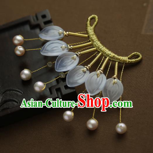 Chinese Ancient Princess Golden Tassel Hairpins Traditional Hanfu Hair Clip Hair Accessories for Women