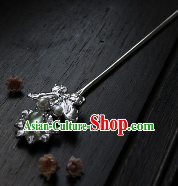 Chinese Ancient Tang Dynasty Queen Butterfly Hairpins Traditional Hanfu Hair Accessories for Women