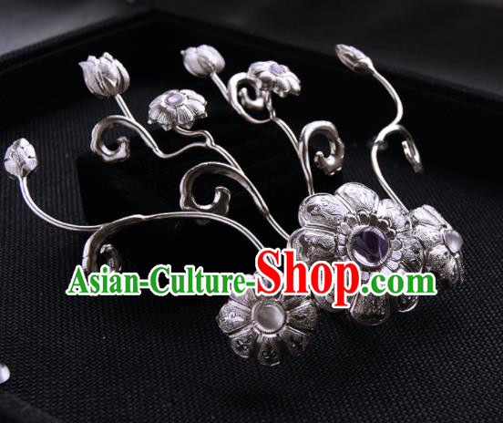 Chinese Ancient Tang Dynasty Hair Claw Hairpins Traditional Hanfu Hair Accessories for Women