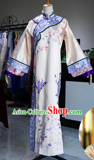 Chinese Ancient Drama Imperial Consort Costumes Traditional Qing Dynasty Queen Dress for Women