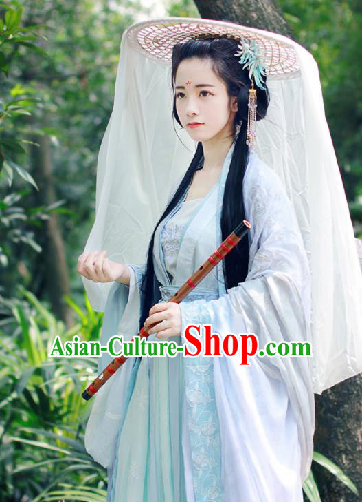 Chinese Traditional Song Dynasty Imperial Consort Replica Costumes Ancient Female Swordsman Hanfu Dress for Women