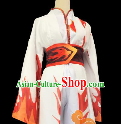 Chinese Traditional Cosplay Female Knight Heroine Dress Custom Ancient Swordswoman Costume for Women