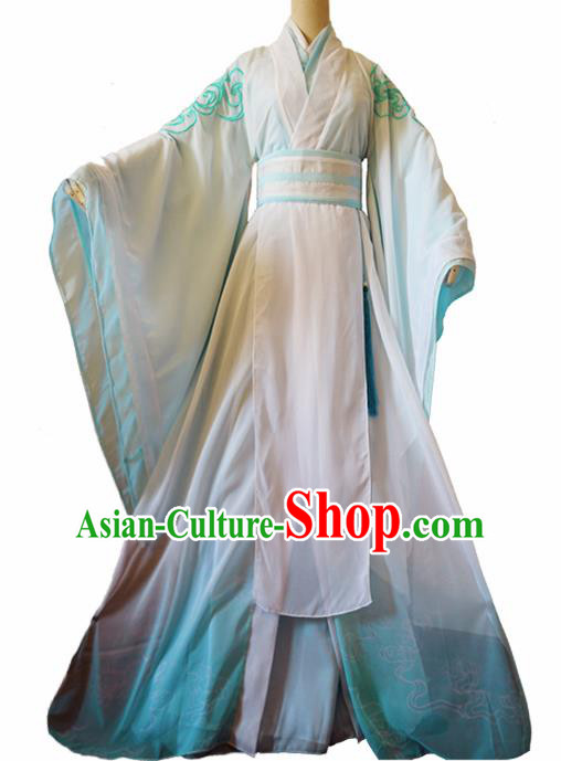 Chinese Ancient Cosplay Swordsman Clothing Custom Traditional Royal Prince Costume for Men