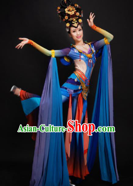 Chinese Spring Festival Gala Dunhuang Flying Apsaras Dance Dress Traditional Classical Dance Costume for Women