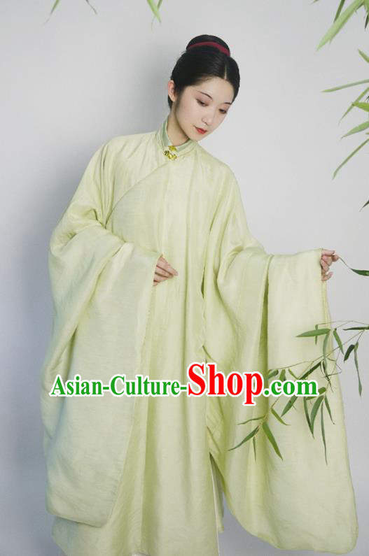 Traditional Chinese Ming Dynasty Court Princess Green Hanfu Dress Ancient Drama Dowager Replica Costumes for Women